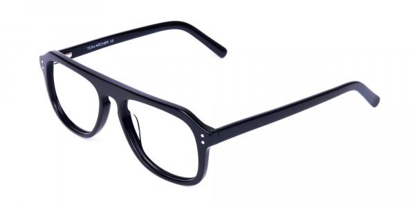 All-Black-Aviator-Glasses-Frame-3