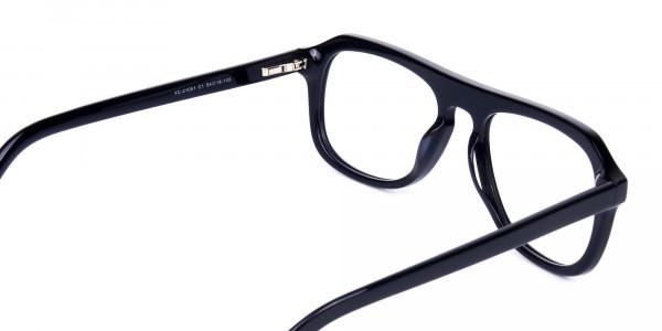 All-Black-Aviator-Glasses-Frame-5