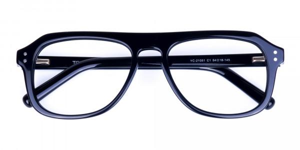 All-Black-Aviator-Glasses-Frame-6