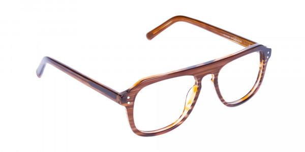 Hazelnut-Brown-Aviator-Glasses-Frame-2