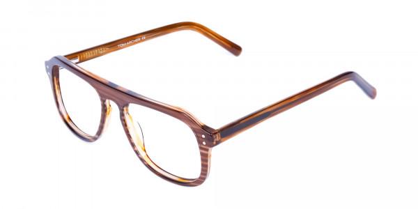 Hazelnut-Brown-Aviator-Glasses-Frame-3