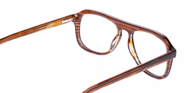 Hazelnut-Brown-Aviator-Glasses-Frame-5