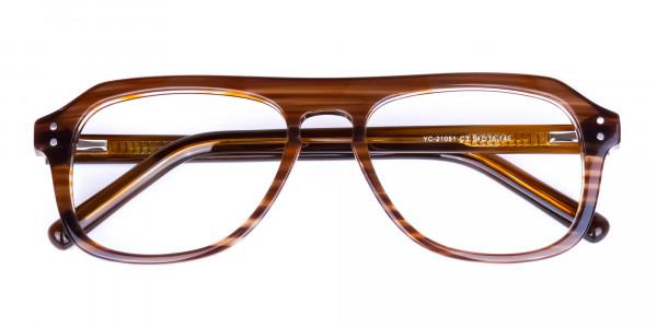 Hazelnut-Brown-Aviator-Glasses-Frame-6