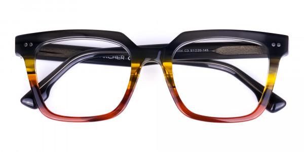 Multi-coloured Metal Glasses Online - 5