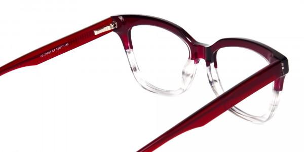 blue light glasses cat eye -5