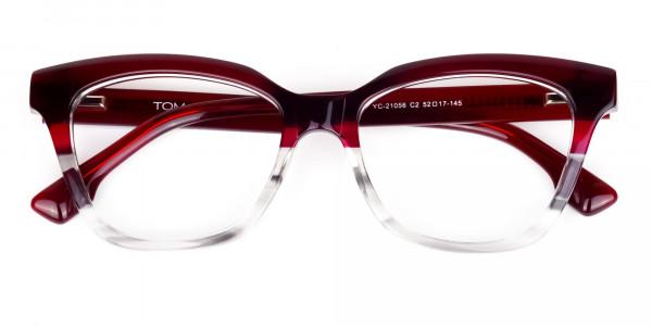 blue light glasses cat eye -6