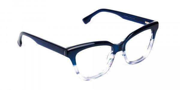 clear blue light glasses -2