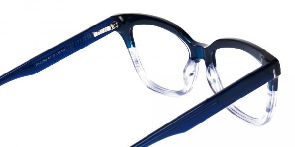 clear blue light glasses -5