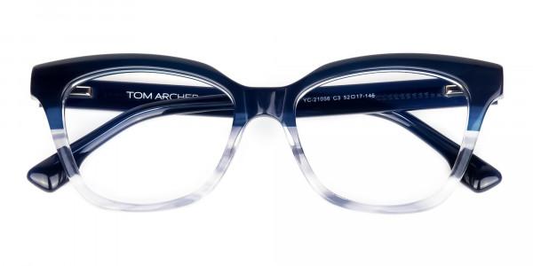 clear blue light glasses -6