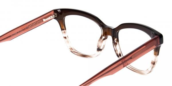 cat eye blue light glasses -5