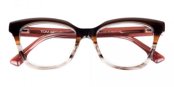 cat eye blue light glasses -6