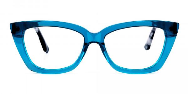 Blue-Crystal-Clear-Cat-Eye-Glasses-1