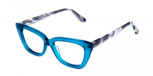 Blue-Crystal-Clear-Cat-Eye-Glasses-3