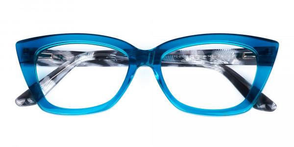 Blue-Crystal-Clear-Cat-Eye-Glasses-6
