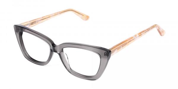 Grey-Crystal-Clear-Cat-Eye-Glasses-3