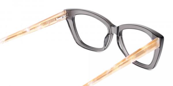 Grey-Crystal-Clear-Cat-Eye-Glasses-5