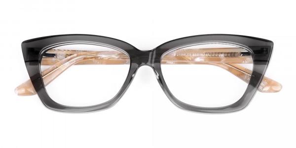 Grey-Crystal-Clear-Cat-Eye-Glasses-6