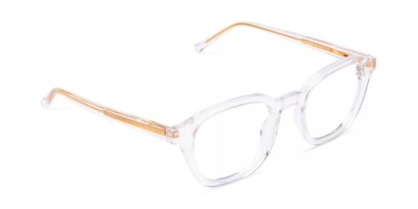 clear framed blue light glasses-2