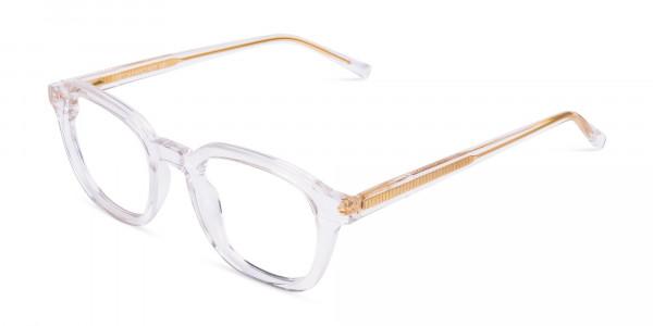 clear framed blue light glasses-3