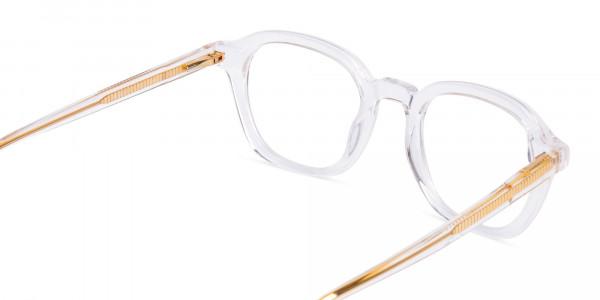 clear framed blue light glasses-5