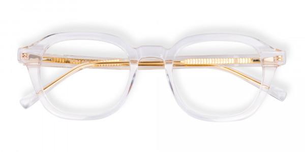 clear framed blue light glasses-6