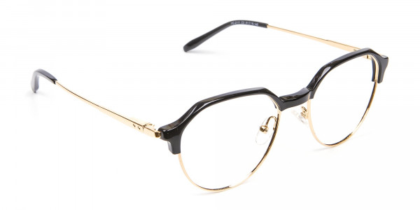 Fresh Look Octagon Glasses - 2