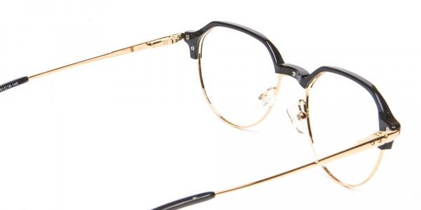 Fresh Look Octagon Glasses - 5