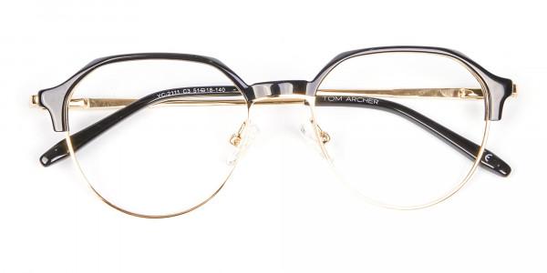 Fresh Look Octagon Glasses - 6