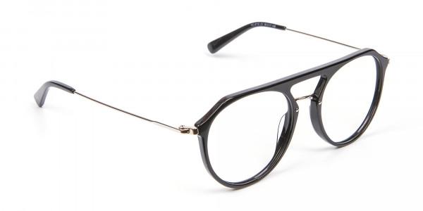 Hybrid Designer Glasses in Round and Angles -2