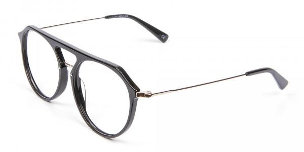 Hybrid Designer Glasses in Round and Angles -3