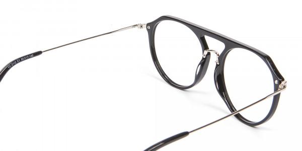 Hybrid Designer Glasses in Round and Angles -5