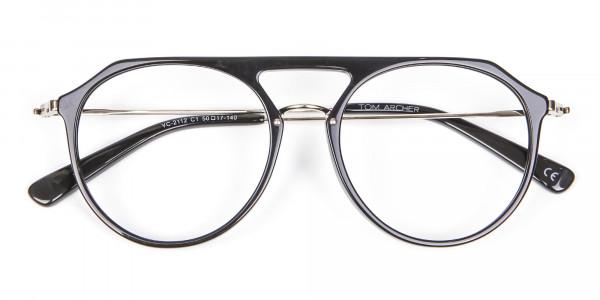 Hybrid Designer Glasses in Round and Angles -6