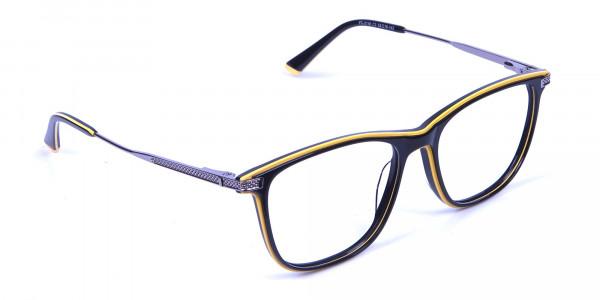 Black & Yellow Rimmed Frames -1