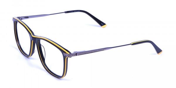 Black & Yellow Rimmed Frames -2
