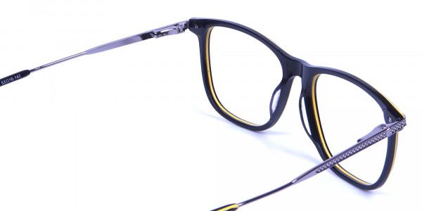 Black & Yellow Rimmed Frames -4