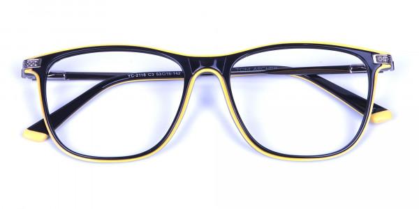 180 image - Black & Yellow Rimmed Frames -14