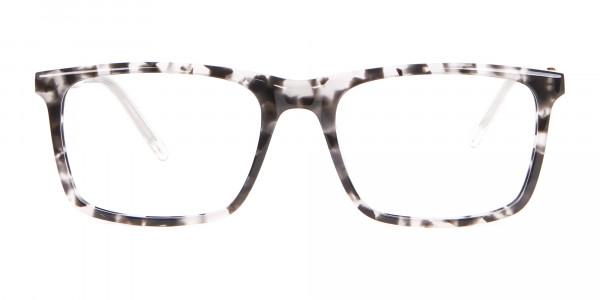 Nerd Chic Rectangular Frame Marble Touch -1