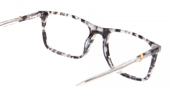Nerd Chic Rectangular Frame Marble Touch -5