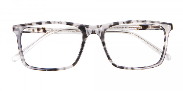 Nerd Chic Rectangular Frame Marble Touch -6