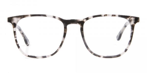 Chic Spotty Black Frame in Square - 1