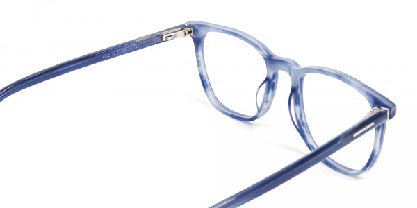 Fresh Blue Designer Glasses - 5