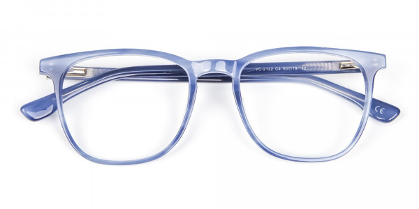 Fresh Blue Designer Glasses - 6