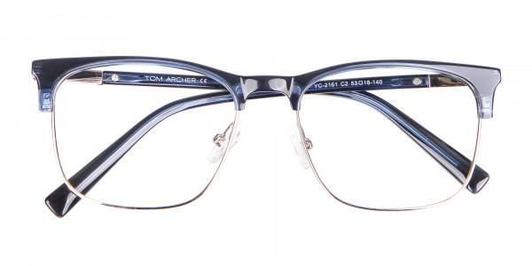 Blue Browline Rim Frame - 6