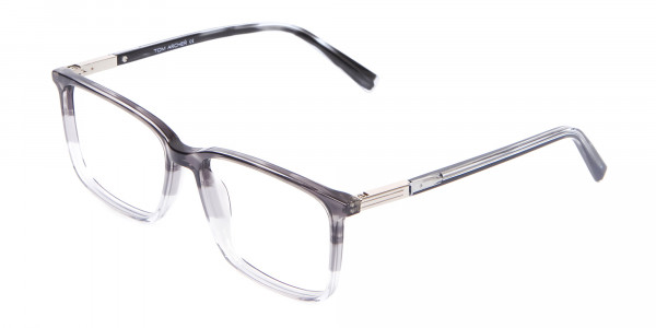 Latest Design Rectangular Frame in Two-Tone Grey - 3