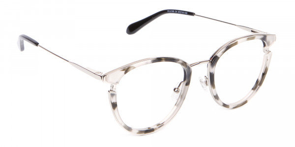 Marble Retro Round Frame with Comfy-2