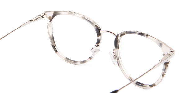 Marble Retro Round Frame with Comfy-5