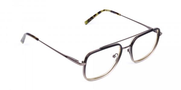 Dark-Green-and-Silver-Aviator-Glasses-2