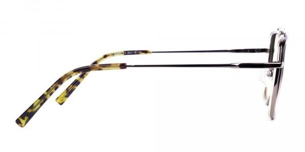 Dark-Green-and-Silver-Aviator-Glasses-4