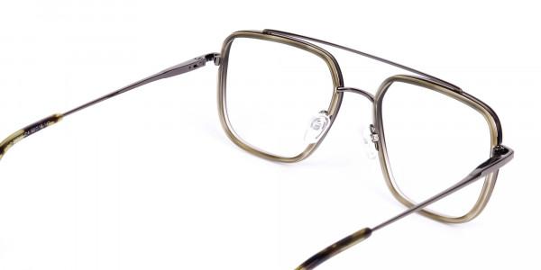 Dark-Green-and-Silver-Aviator-Glasses-5