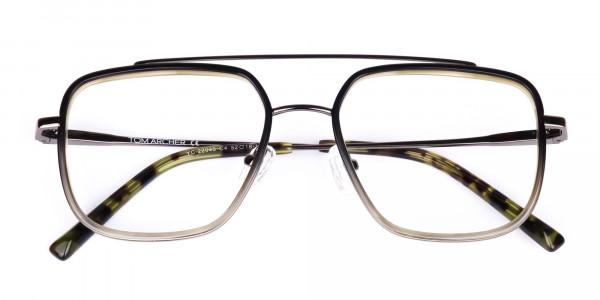 Dark-Green-and-Silver-Aviator-Glasses-6